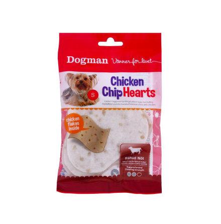 Chicken chip hearts 30g 4 st