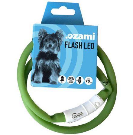 Halsband flash led 70cm blinkande