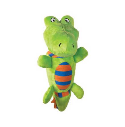 Hundleksak Stretchezz Tugga Alligator S, Kong