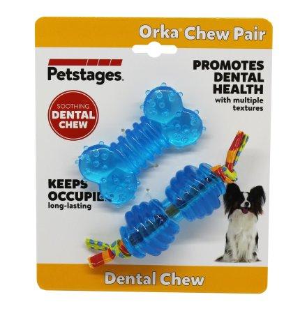 Hundleksak Orka chew pair, Petstages