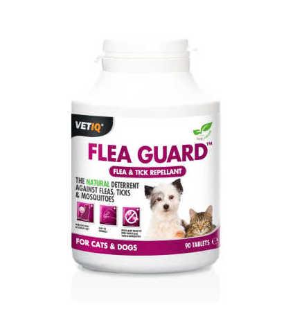 Tabletter mot fästingar/loppor för hund/katt 90 st