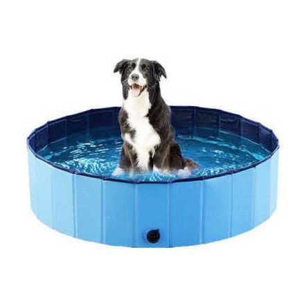 Dogpool, hundpool 120x30 cm, blå
