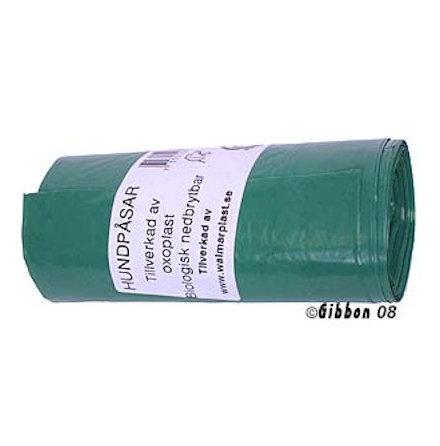 Bajspåse nedbrytbar mörkgrön 50st