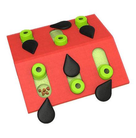 Kattleksak cat puzzle & play melon madness